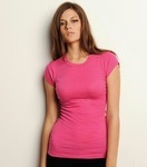 BElla+Canvas Sheer Mini Rib Longer Length Ladies' Tee